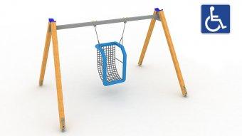 Huśtawka integracyjna dla osób niepełnosprawnych nr kat. HI-02