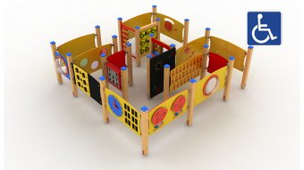 Plac zabaw integracyjny nr kat. PRO-I04