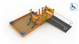 Plac zabaw dla osób niepełnosprawnych nr kat.  PRO-I01